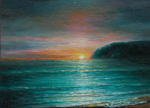 Jūros peizažas 25x35